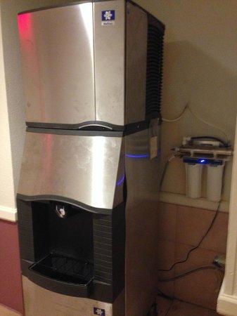 Hotel Riu Palace Aruba: Máquina de hielo