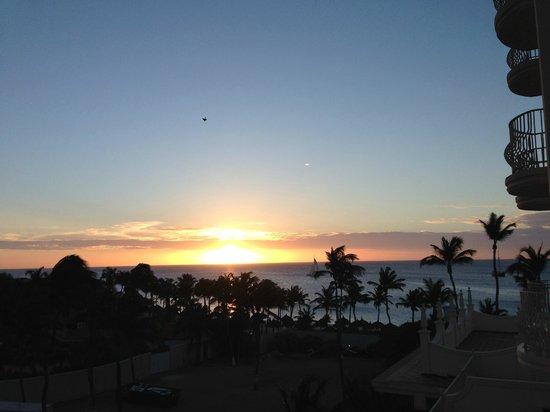 Hotel Riu Palace Aruba: Vista desde la habitación Junior Suite (habitación con vista lateral)
