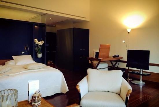 Victoria Jungfrau Grand Hotel & Spa: prachtige suite
