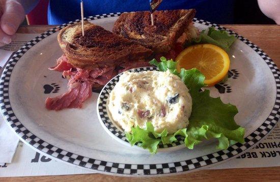 Black Bear Diner: My brother's sandwich