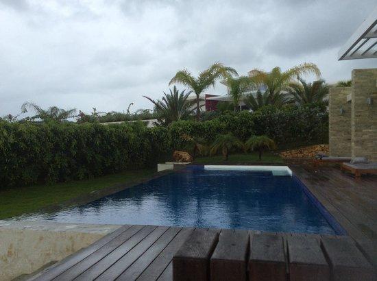 Villas Agua Dulce : From the Patio