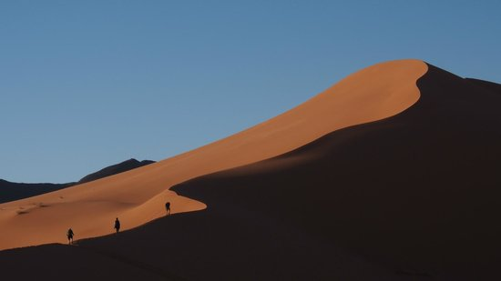 Le Chevalier Solitaire: Dune a Merzouga