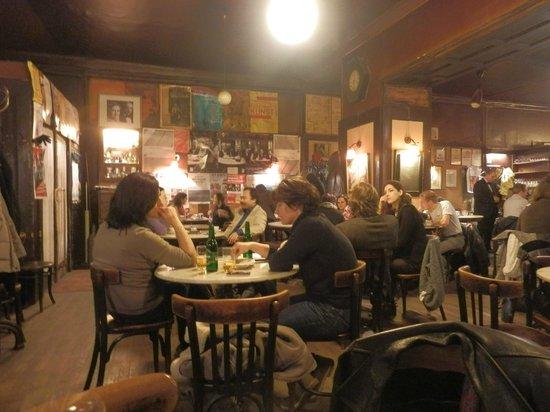 Cafe Hawelka: interno
