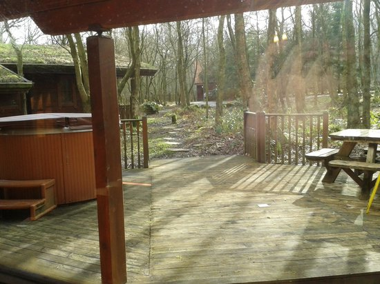 Chevin Country Park Hotel & Spa: The Dales Suite - View of front Porch