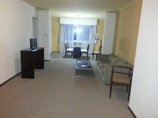 Lancaster Hotel: Esta es la suite del hotel que me dieron despues de haberme dado la habitacion 1007 en pesimo es