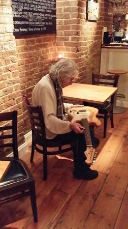 Albert Lee at the Oyster and Chop House