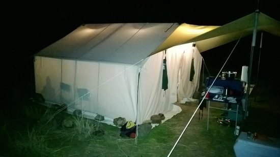 Canyon Outfitters, Inc.: dinner & card tent