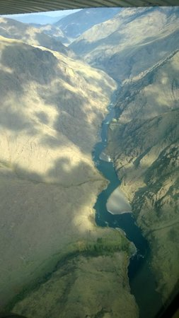 Canyon Outfitters, Inc.: Hell's Canyon from above