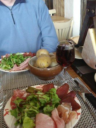 Le Refuge Gourmand : La raclette