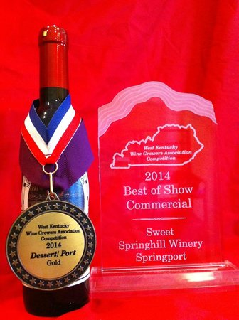 Springhill Winery & Plantation Bed 'n Breakfast: 2014 Best in Show Springport