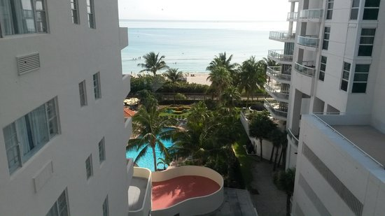 Lexington Hotel - Miami Beach: Hermosa vista, piso 9
