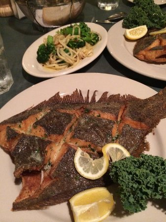 Mom and Dad's: Special of the Night, Scored Flounder