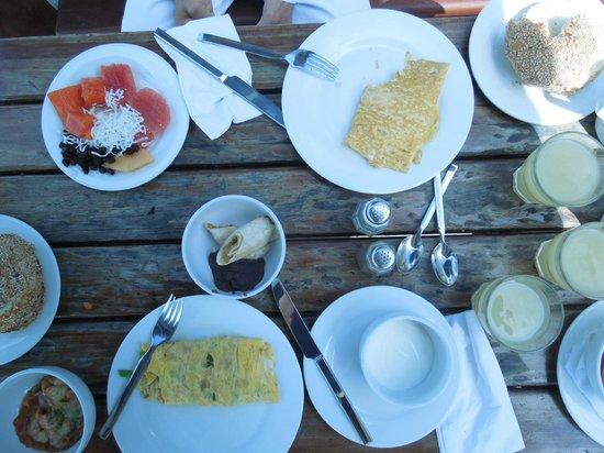 Mia Reef Isla Mujeres : Breakfast open-air - Avalon Reef Club