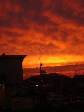 Nautilus Condominium: View from front of Nautilus - gorgeous sunset