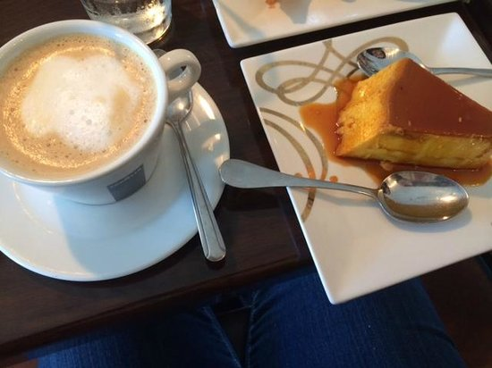 The Chimney House: Cafe con Leche with Flan