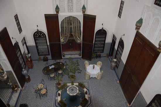 Riad Kettani: Living Area