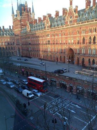 Hotel Megaro: vista dalla finestra