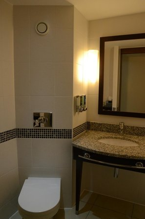 Hampton by Hilton London Croydon: Bathroom WC
