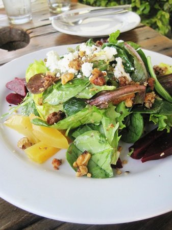 Solvang Brewing Company: Roasted Beet Salad.