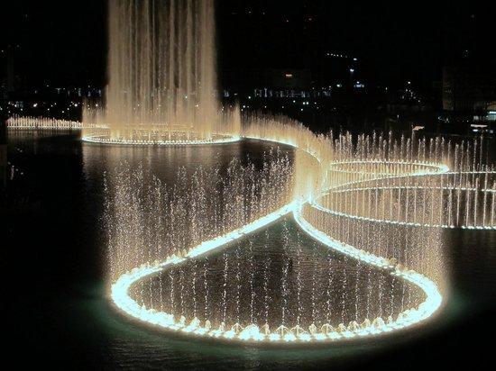 The Dubai Fountain : Fountain show pic 4