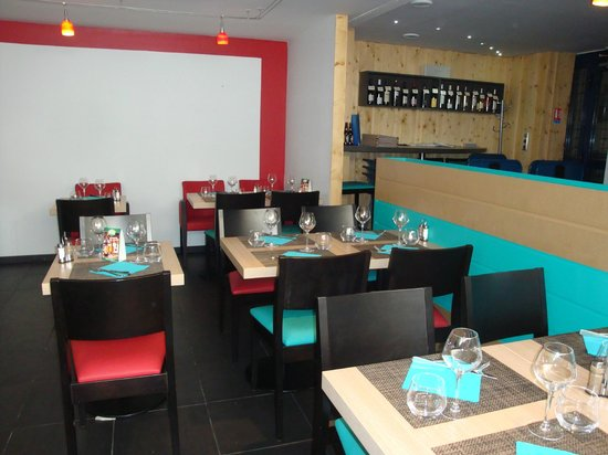Le Saint-Amour : salle du restaurant