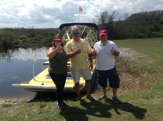 Aquatic Adventures Airboat Tours: we loved the airboat ride with Captain Dave!