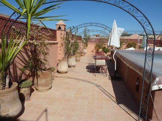 Riad Mandalay : Sun terrace