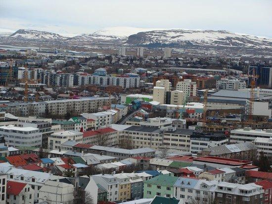 Fosshotel Raudara : View over Reykjavik