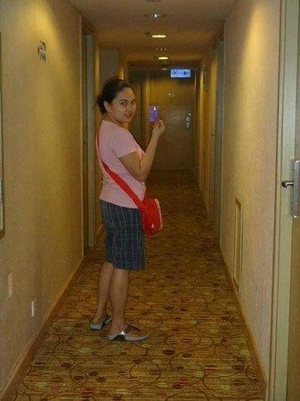 Silka Far East Hotel : hallway