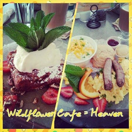 Wildflower Cafe: Heavenly breakfast