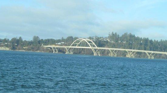 Yachats coastline: Yachats Bridge