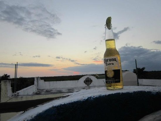 Casa and Casitas Tranquilidad: Sunset drinks on the rooftop