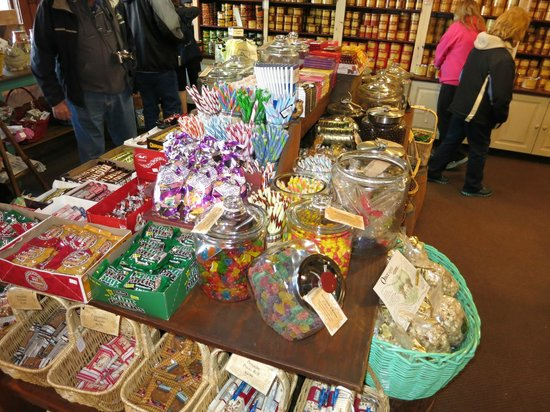 The Peanut Shop: Candy display