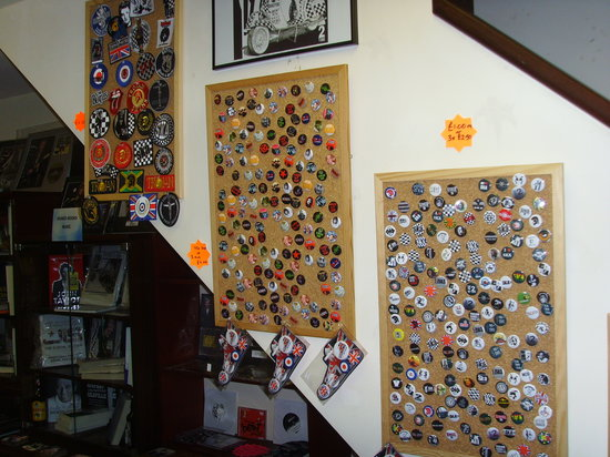 Coventry, UK: badges and patches