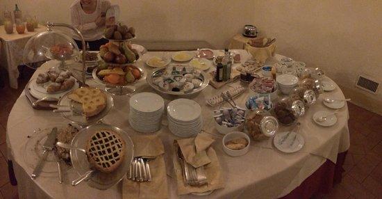 Antica Dimora alla Rocca: Che colazione!!!!