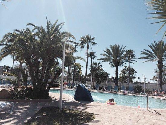Four Points by Sheraton Orlando Studio City Hotel: Gorgeous Pool 3ft.-7.6ft. Deep