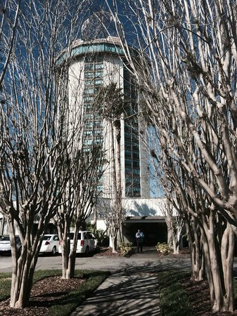 Four Points by Sheraton Orlando International Drive: Back Entrance to Hotel for Functions/Seminars