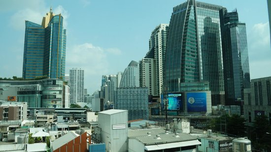 Park Plaza Sukhumvit Bangkok: View north direction to Terminal 21