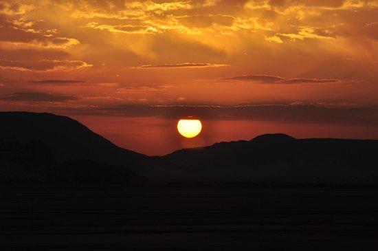 amanece en Wadi Rum