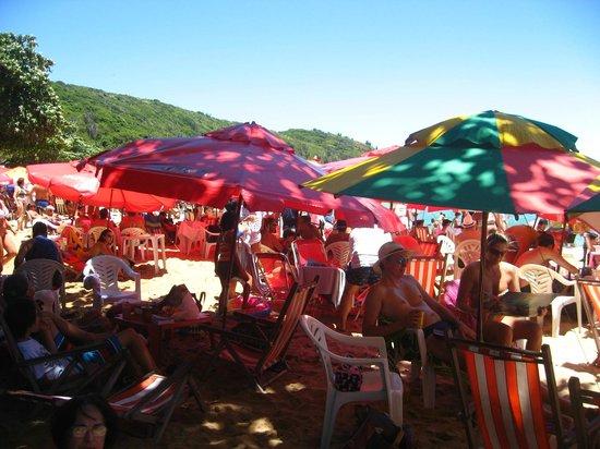 Joao Fernandes Beach: caos na praia