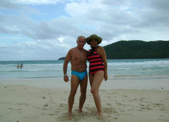 Flamenco Beach: Panoramica 2