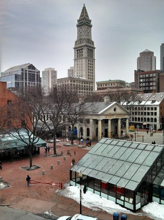 The Bostonian Boston: View from the balcony - Room 441