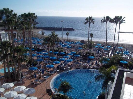 Guayarmina Princess Hotel : view from balcony