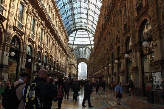 Hotel Arno: Galería Vittorio Emanuele II
