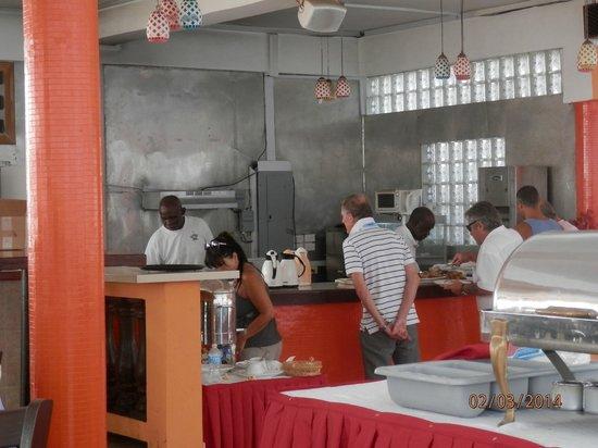 Casa Grande Airport Hotel: FOOD BAR