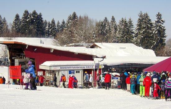 Alpspitzbahn: skilift