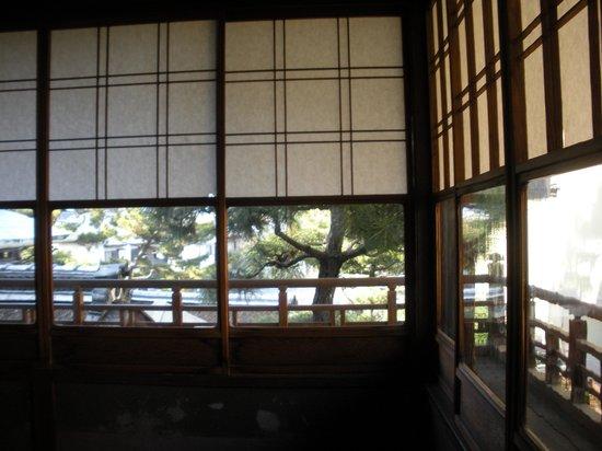 Kyoto Garden Ryokan Yachiyo: View from our room.