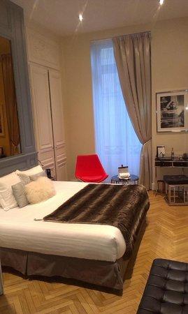 Le Boutique Hotel : La chambre,grande classe!