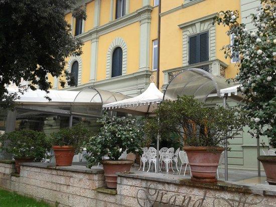 Grand Hotel Tettuccio : La facciata dell'hotel