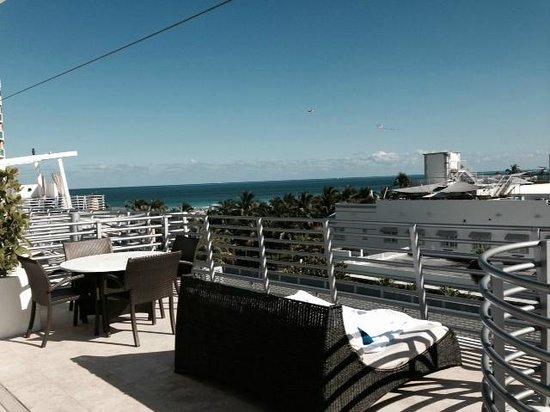 Z Ocean Hotel South Beach : Rooftop Balcony